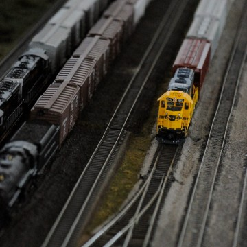 Model Trains at Imaginology
